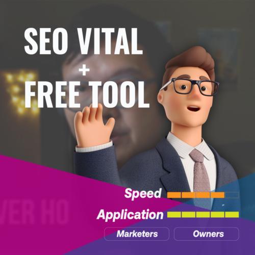 SEO Vital with Free Tool(Cantonese)